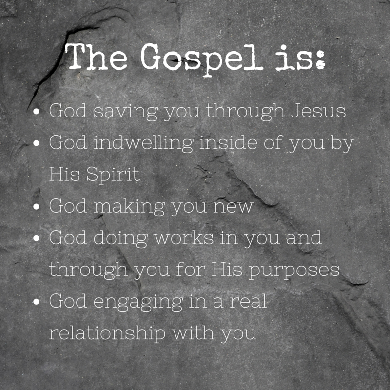 The Gospel is