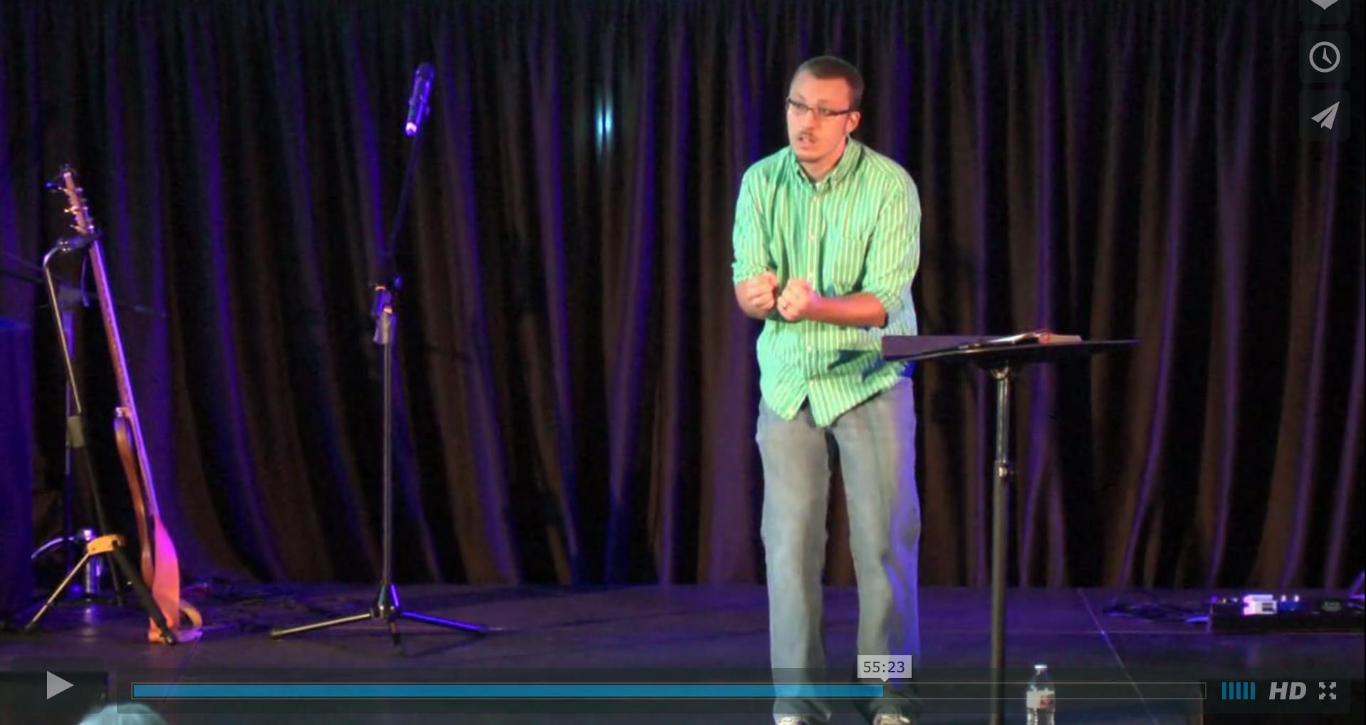Brandon Kelley Preaching