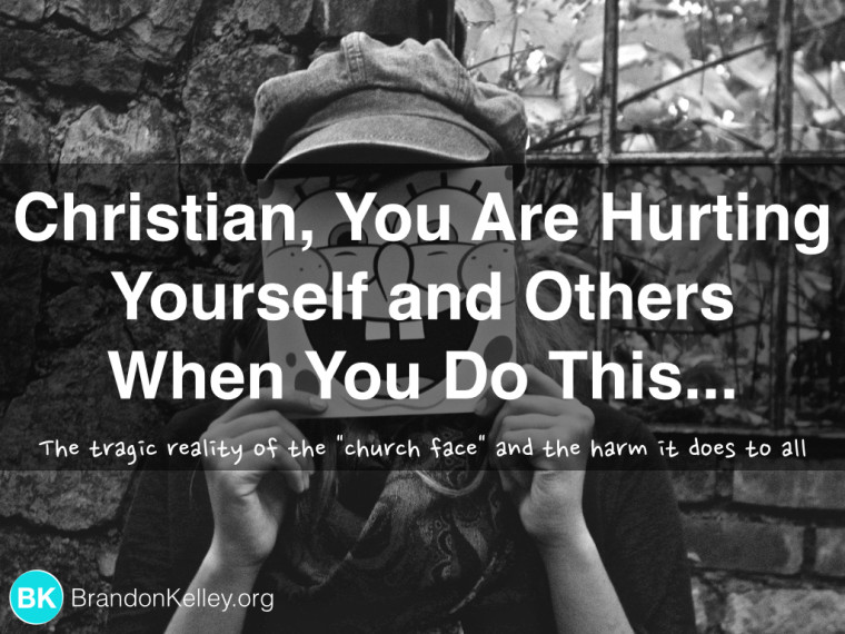 Christian, You Are Hurting Yourself and Others When You Do This...