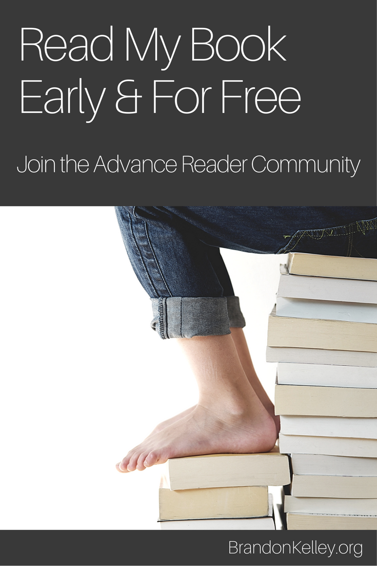 Read My Book Early & For Free
